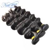 Gruppi allentati brasiliani di vendita caldi dei capelli umani dell'onda 100% di prezzi poco costosi