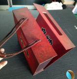 OEM 고품질 식품 포장 리본 손잡이를 가진 정연한 선물 상자