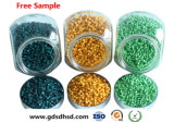 Il colore verde Masterbatch si è applicato in espulsore della plastica della pellicola di industria
