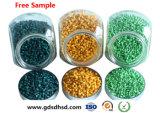 Masterbatch verde applicato in espulsore della plastica della pellicola di industria
