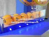 Máquina de la lotería del aire de la alta calidad que sopla y máquina rotatoria de la máquina afortunada del drenaje