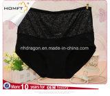 Le coton en gros de jacquard de femmes donne des instructions Madame mûre Panty de dossiers de classique de dames de taille élevée
