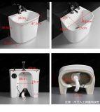 Cerámica de porcelana sanitaria rp bañera (402)