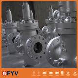 API 6D/600 fundición de acero Válvula de compuerta Actutor eléctrico