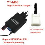 SD/USB/Aux in de Hete Verkoop van de Adapter van de Muziek Yatour in Amerika voor Toyota /Lexus