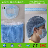 Rete di capelli non tessuta chirurgica a gettare della protezione della clip Kxt-Nwc06