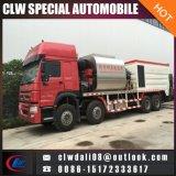 中国、LHDまたはRhdからの10cbmアスファルトタンクが付いている8*4頑丈なアスファルト噴霧のトラックは任意選択である