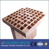El panel acústico de madera del difusor de los sonidos de Qrd