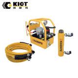 ARIETE hydráulico temporario del doble de Kiet con la pompa hydráulica