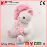 OEM는 박제 동물 아이 소녀를 위한 연약한 장난감 견면 벨벳 고양이를 주문을 받아서 만든다