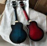 고품질 26 인치 파란 단풍나무 전기 재즈 우쿨렐레