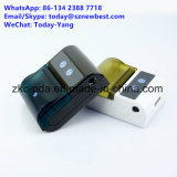Impressora térmica do recibo da impressora móvel barata de Bluetooth 4.0