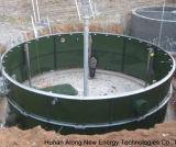 pianta anaerobica del biogas del reattore/digestore di 1*1246m3 Cstr