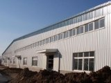쉬운 넓은 경간은 가벼운 강철 구조물 작업장을 조립한다
