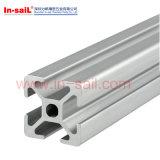 Vier seitliche Schlitz-Aluminium-Strangpresßlinge
