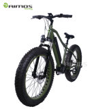 Bicicleta eléctrica del neumático gordo portable del despliegue con el MEDIADOS DE motor impulsor
