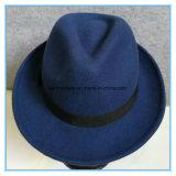 Мода шерсть мнение женщин Fedora Trilby Red Hat в зимнее время