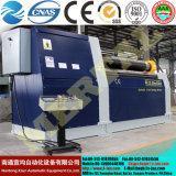 Laminatoio della lamiera di acciaio di CNC W12, macchina della piegatrice del rullo