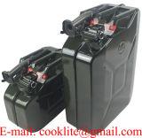 La riserva Kanister Aus Metall di Benzinkanister Dieselkanister Kraftstoffkanister 10 litri/può