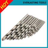 Morceaux de foret de torsion de matériel de cobalt pour le perçage d'acier inoxydable