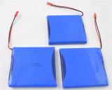 3.7V pacchetto ricaricabile della batteria del polimero del litio 118085/7200mAh
