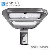 Los 90W más nuevos llenos a presión la luz de calle de aluminio de la cubierta LED de la fundición con el vidrio Tempered