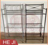 Scaffalatura del tovagliolo della mensola della stanza da bagno per l'organizzazione domestica o la decorazione
