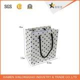 Qualitäts-Verpackungs-Papier-Kleid-Einkaufstasche mit Baumwollgriff