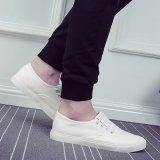 Chaussures vulcanisées de pédale de chaussures de chaussures de toile des hommes coréens du type 2017 d'été et d'automne