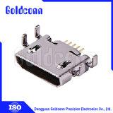 USBのコネクター2.0 Afのすくい90度の細い逆のタイプ