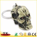 Цепь изготовленный на заказ металла терминатора ключевая с Keyring формы черепа
