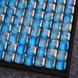 precio de fábrica Backsplash decorativos Mosaico de vidrio transparente Filipinas