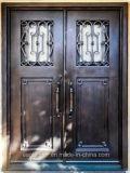 صاحب مصنع الصين [ديركت بريس] [ورووغت يرون] [فرونت دوور] خارجيّة مدخل معدن أبواب ([إي-028])