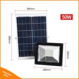 50W 96 LED 원격 제어를 가진 옥외 거리 잔디밭 투상을%s 태양 정원 플러드 빛