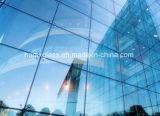 Baixo revestido de vidro personalizado de E de vidro da vitrificação dobro