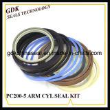 Производство гидравлического цилиндра рукояти комплект уплотнений (PC200-5)