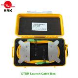 Многомодовый кабель одномодовый оптоволоконный кабель OTDR запуска кабельной приставки