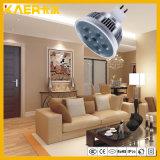 5W MR16 de Hoge LEIDENE van het Aluminium van de Macht Kop van de Lamp