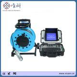 Cctv-Abwasserkanal-Geräten-Rohr-Inspektion-Kamera für Rohrleitung-Arbeit mit 100m dem flexiblen Kabel