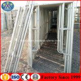 Q235 flexible en acier galvanisé échafaudage de trame utilisée pour la vente d'Échafaudage