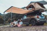 per la tenda dura fuori strada di campeggio della parte superiore del tetto delle coperture 4WD dell'automobile con la tenda laterale, commercio all'ingrosso della Cina