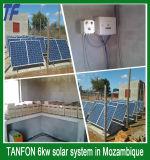 Nuovo sistema di energia solare di disegno 6kw 8kw per la casa