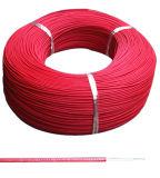 UL3605 Malla de fibra de vidrio, caucho de silicona Cable aislado