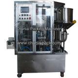 Type rotatoire machine remplissante de cachetage de cuvette de yaourt
