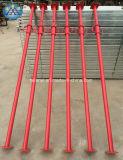 Alliage métallique réglable plaque de base prop. de pièces pour système d'Échafaudage