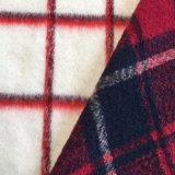 Abrigo tejido de lana de oveja