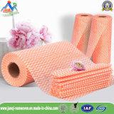 Nonwoven ткань для чистки автомобиля и ткани Wipe домоустройства