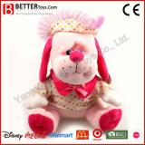 Kundenspezifisches angefülltes Tier-Plüsch-Spielzeug-weicher Hund für Kinder/Kinder/Baby
