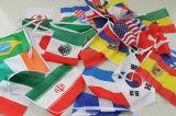 Les drapeaux des pays concurrents Pomotion Bunting pour la Coupe du Monde en 2018
