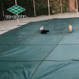De groene Dekking van het Zwembad van het Netwerk van de Veiligheid voor Zwembaden Inground